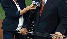 Rob Manfred's Bat Was Uncomfortably Close to Erin Andrews' Private Parts (GIF)