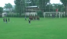 Romanian Soccer Coach Just Punches Ref In The Face (Video)
