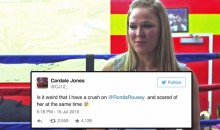 Ronda Rousey Responds to Cardale Jones' Flirty Tweets (Video)