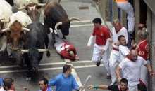 Three People Were Gored at Pamplona's Running of the Bulls (Video)