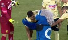 San Jose Earthquakes Mascot Tackles Pitch Invader, Fights Opposing Players (Video)