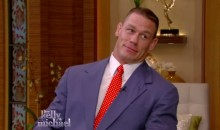 John Cena and Michael Strahan Get into a Rap Battle (Video)