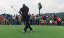 Shaq Completely Missed the Ball on a Pro-Am Drive (Video)