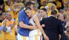 Steph Curry Bids Farewell to David Lee With Throwback Video