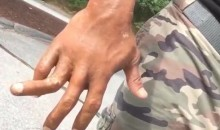 The Rock's Finger Is Bent Sideways, And He Seems To Be Enjoying It (Video)