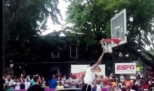This Dunk Attempt Over a Car Is Both Sad and Shameful (Video)