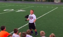 This Little Football Camper Does a Sick Ray Lewis Impression (Video)