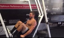 Tim Tebow Doesn't Skip Leg Day (Video)