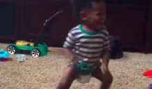 Torrey Smith's Toddler Can Bust a Move for Silento (Video)