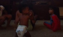 Torrey Smith's Toddler Just Can't Stop Dancing (Video)