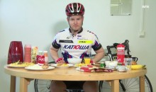 Dude Tries to Eat Tour de France Rider's Daily Meal, Barfs (Video)