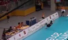 Volleyball Player Saves Point with Last-Ditch 'Scorpion Kick' (Video)