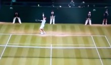 This Andy Murray Serve Was Juuust a Bit Outside (Video)