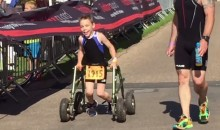 Badass 8-Year-Old With Cerebral Palsy Completes First Triathlon, Is Way More Awesome Than You