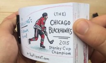 Awesome Chicago Blackhawks Flipbook Celebrates their Historic Stanley Cup Run (Video)
