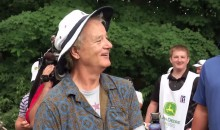 Cubs Fan Bill Murray Was Talking Trash to a Cardinals Fan at the John Deere Classic Pro Am (Video)