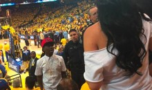 Turns Out a Member of Floyd Mayweather's TMT Crew Really Did Punch a Woman at a Warriors Game (Pic)