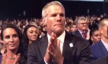 Jenn Sterger ESPY Tweet Gives Brett Favre Third-Degree Burns (Video)