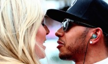Lindsey Vonn and Lewis Hamilton Shared a Moment Before the British Grand Prix, So Obviously the Internet Thinks They're Dating (Pics)