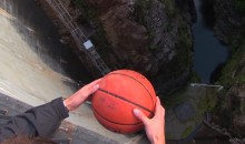 Mind-Blowing Basketball Drop Demonstrates the Magnus Effect, Which Is Basically Magic (Videos)