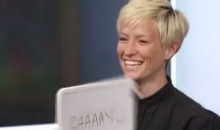 Megan Rapinoe Gave a Pretty Funny Response When Asked to Describe Herself with One Word (Video)