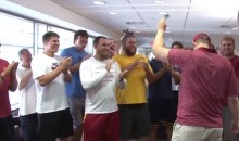 Iowa State Football Team Surprises Teammate Mitchell Meyers on His Last Day of Chemo (Videos)