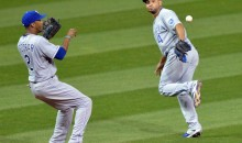 Must See: Omar Infante and Alcides Escobar Team Up for the Play of the Year (Videos)