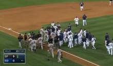 Stars Beaned, Bats Flipped, Gum Thrown, Benches Cleared During Padres-Giants Game (Video)