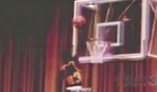 Rare Michael Jordan High School Footage Shows the G.O.A.T. Dunking with Ease (Video)