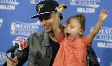 Looks Like NBA Superstar Riley Curry Has Some Competition: A Brand New Baby Sister!