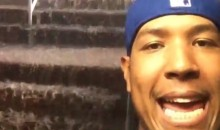 This Salvador Perez Rain Delay Weather Update from Monday's Royals-Rays Game Was Very Helpful (Video)