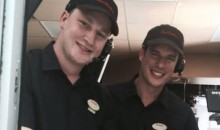 Sidney Crosby and Nathan McKinnon Surprise Tim Hortons Customers in the Most Canadian Publicity Stunt Ever (Pics)