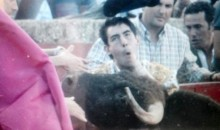 A Bullfighter Got Gored (For the 8th Time!) in the Neck (Video)