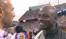 Adrian Peterson Says He's The LeBron James of the NFL (Video)