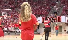 Ball State Freshman Hits Half-Court Shot, Wins Free Tuition (Video)