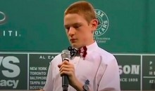 Blind Autistic Boy Performs Fenway Park National Anthem (Video)