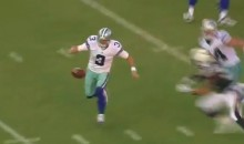 Brandon Weeden Slaps Away Fumble Hilariously in Preseason Game (Video)