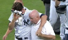 Yankees Pitcher Bryan Mitchell Hit in Face With Line Drive (Video)