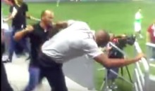 Costa Rica Soccer Coach Fights Security Guard after Game (Video)