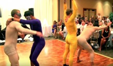 Devin Setoguchi's Wedding Had The Strangest Thing Ever (Video)