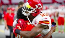 Eric Berry Shares a Moment with Mom Before Chiefs Game