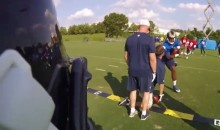 For His Bday, Todd Gurley Practiced with a GoPro (Video)