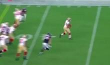 Former Rugby Star Jarryd Hayne Gets 53-Yard Run in 49ers Debut (Video)