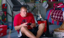 Gronk Acts Like the Man-Child He Is in This Foot Locker Ad (Video)