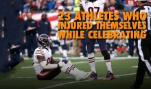 23 Athletes Who Injured Themselves While Celebrating (Video)