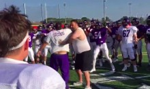 Holy Cross Uses a WWE-Style Hype Skit To Get Fired Up (Video)