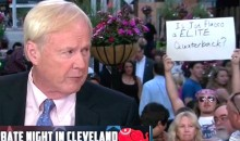 "NFL Fan Crashes Republican Presidential Debate, Asks THE BIG Question: ""Is Joe Flacco a Elite Quarterback?"" (Pic)"
