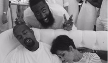 James Harden's B-Day Party Had Kardashians and Kanye (Pics)