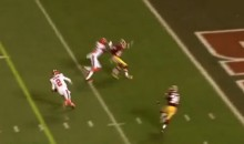 Johnny Manziel Looks Good During 12-Yard TD Run (Video)