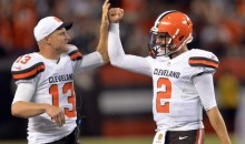 Johnny Manziel Throws TD, Looks Like a Good QB (Videos)